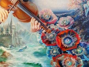 Посещение персональной художественной выставки «Музыка души» Ильиной Натальи