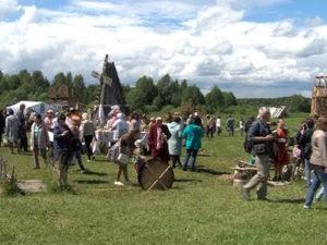Посещение XI Межрегионального фольклорно-этнографического праздника «Земля предков» в Килемарском районе